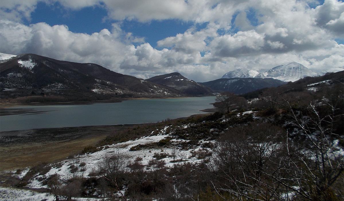 1- Riserva lago di campotosto 13.03.2018
